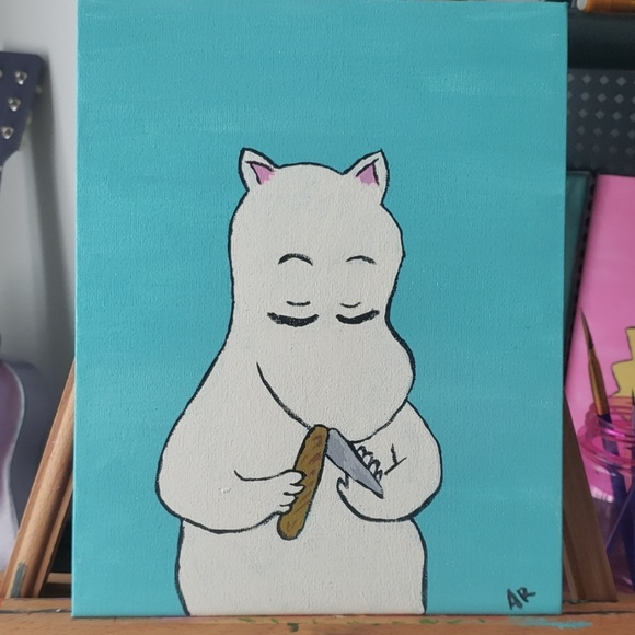 Other - Moomin meme painting